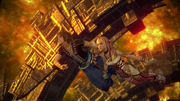 Serah and Noel in Historia Crux FFXIII-2