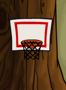 Basketballnetinanigloo