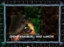 Chompasaurus & Lunch