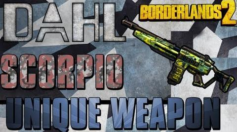 Borderlands 2 - Scorpio - Unique Weapon