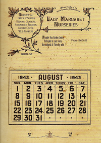 1943RiddleHouseCalendar