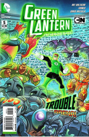 Cover for Green Lantern: The Animated Series #5