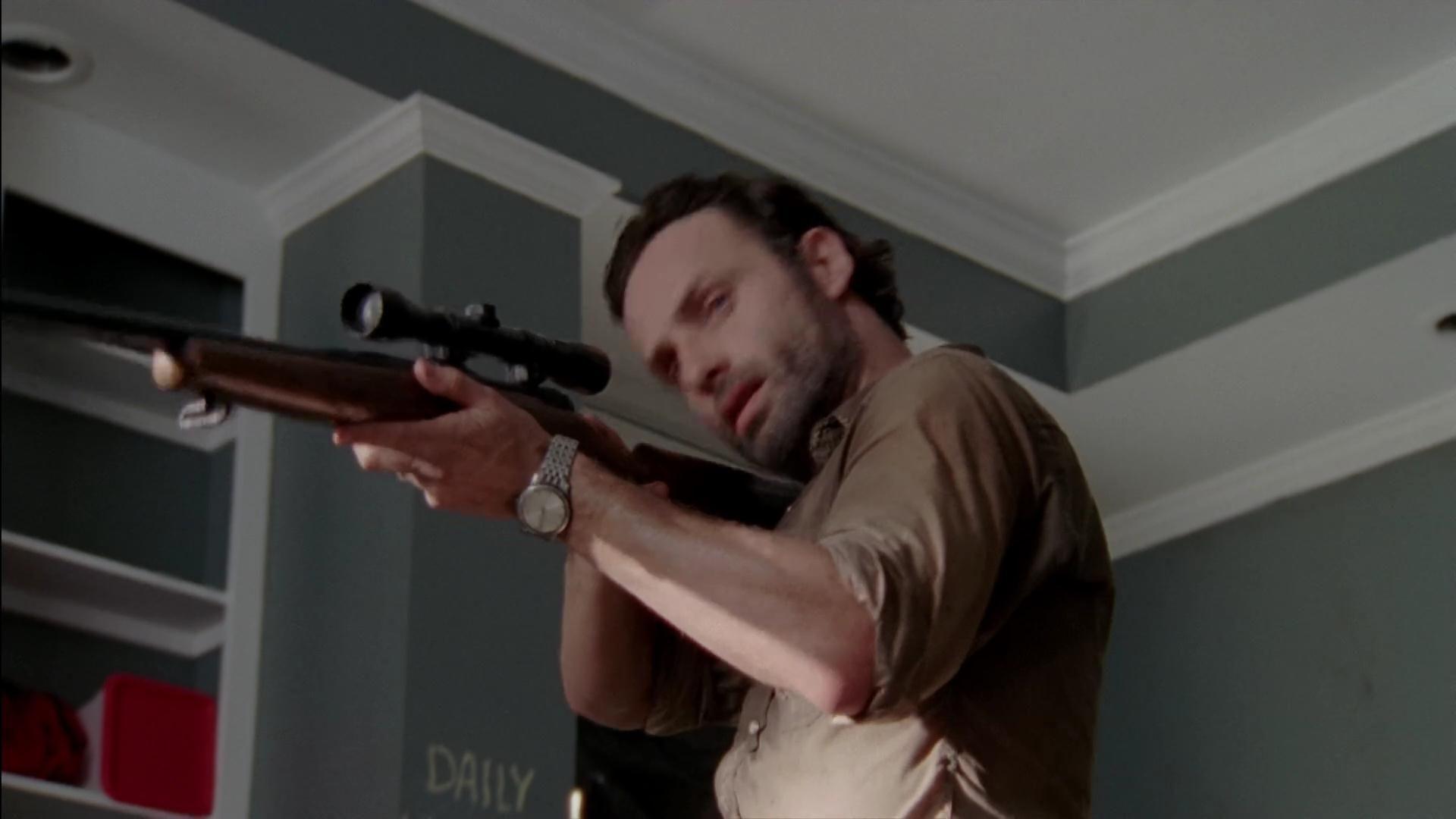 Armas usadas en The walking Dead parte 2