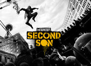 Infamous Second Son artwork & logo