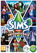 Packshot The Sims 3 Vida Universitria