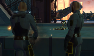 Docking bay skirmish