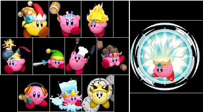 Kirby D.I.Y Power-ups