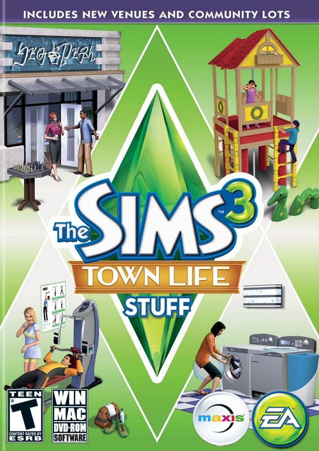 Download The Sims 3 Stuff Pack : Town Life Stuff Torrent Link ~ The NRS