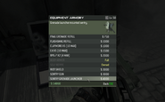 MW3 Sentry Grenade Launcher Menu Screen