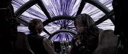 Hyperspace falcon