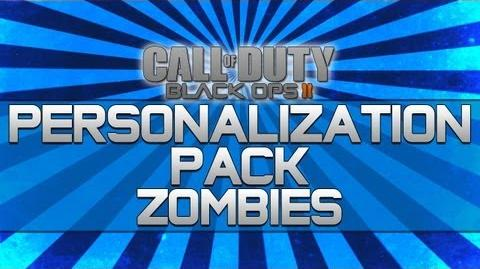 Black Ops 2 - Personalization Pack Zombies!! (Camo, Reticle and Calling Card)