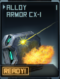 Alloy Armor CX-1