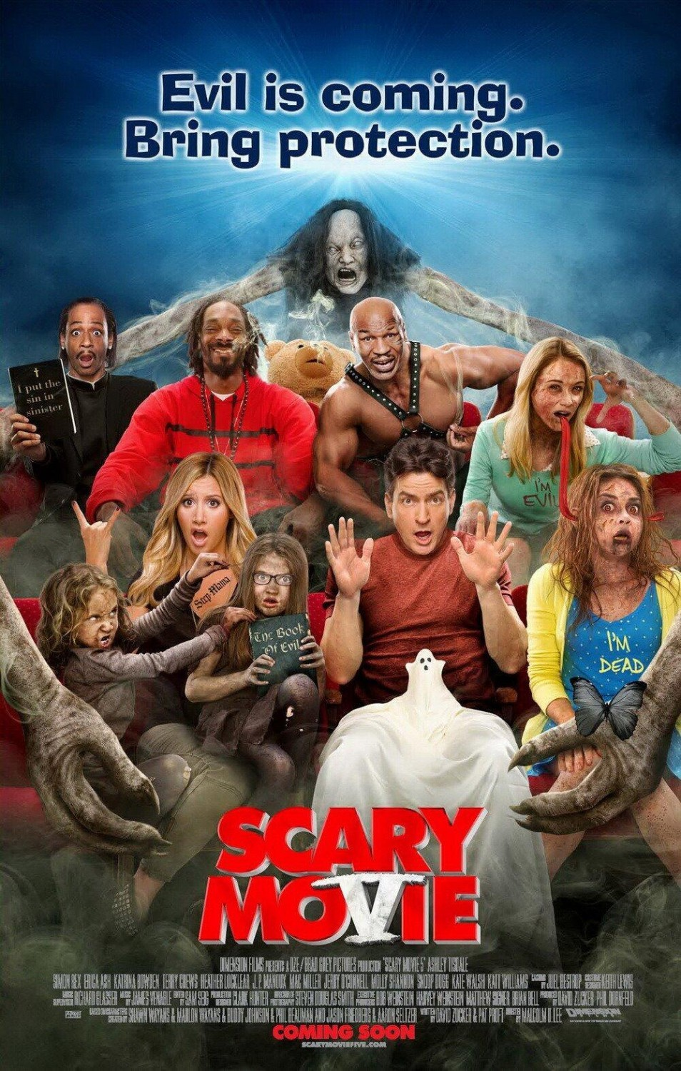 Scary movie 5 die moviepedia filme trailer stars kritiken