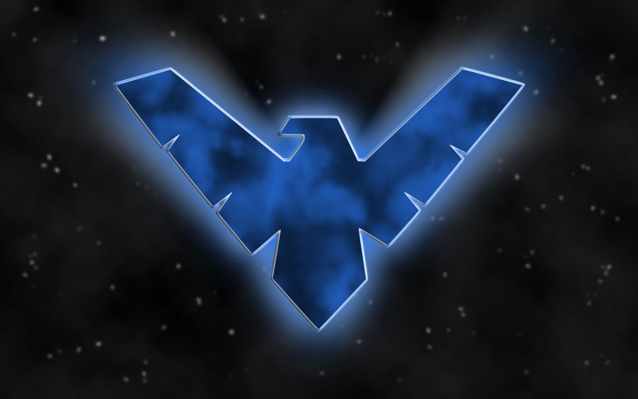 Nightwing Symbol Wallpaper  PaperPull