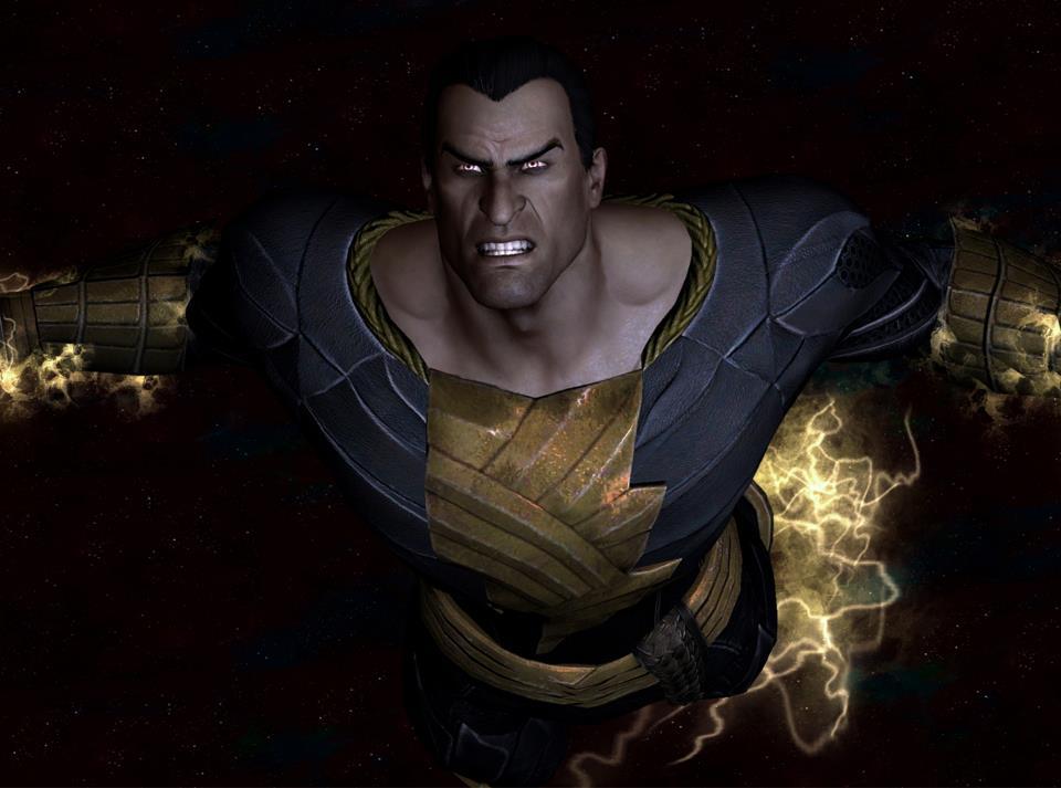 Black Adam Use New 52 Injustice