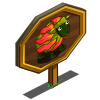 Flame Lilly Sheep Mastery Sign-icon