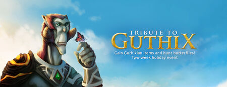 Tribute to Guthix banner
