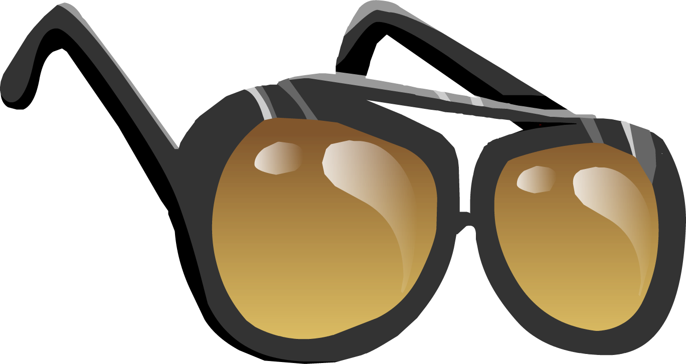 Sunglasses Clipart Black And White Member Party None clipart
