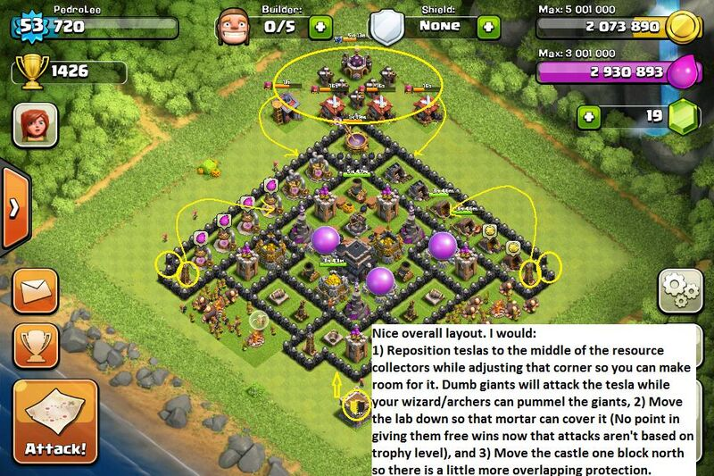 Image - Clash Of Clans Air Defence Strategy.jpg - Clash of Clans Wiki