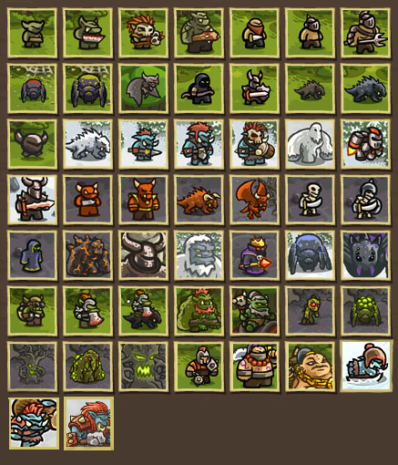 Kingdom Rush Frontiers Enemies Related Keywords & Suggestions