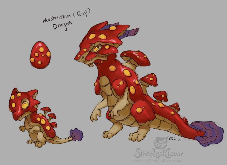Mushroom Dragons