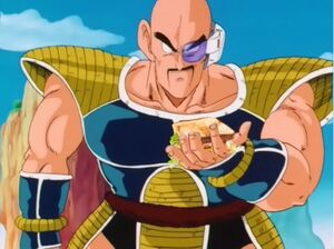 Nappa and a sandwich