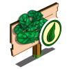 Organic Spinach Mastery Sign-icon