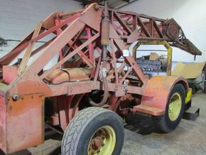 1960 TAYLOR JUMBO Junior Yardcrane Diesel