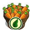 Organic Carrot Bushel-icon