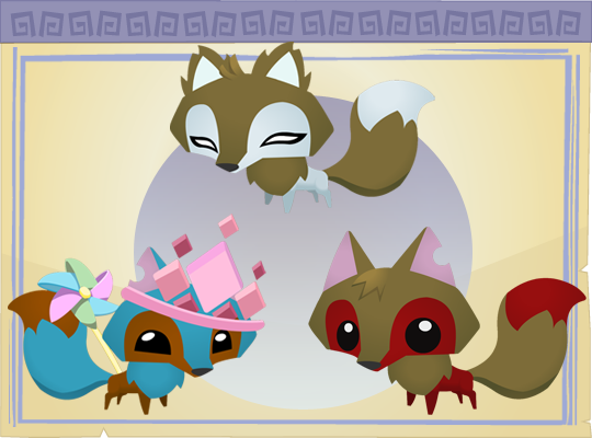 Arctic Wolves (pet) - Animal Jam Wiki
