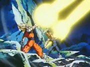 VegetaAndGokuFireBlasts