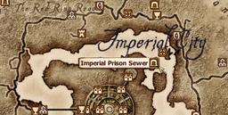 Imperial Prison Sewer MapLocation