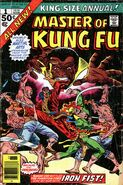 Master of Kung Fu Annual 1