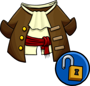 Captain's Coat clothing icon ID 10295