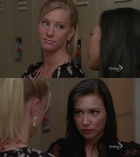 FUK!Ilovefreakinglovethewaytheylookateachother feels brittana