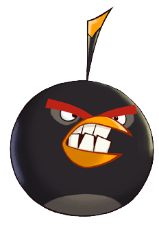 image toons bomb 1 png angry birds wiki. Black Bedroom Furniture Sets. Home Design Ideas