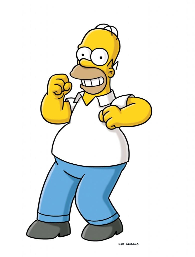 Tipo  En Palabras De Su Mismo Creador  Matt Groening   Homero Simpson