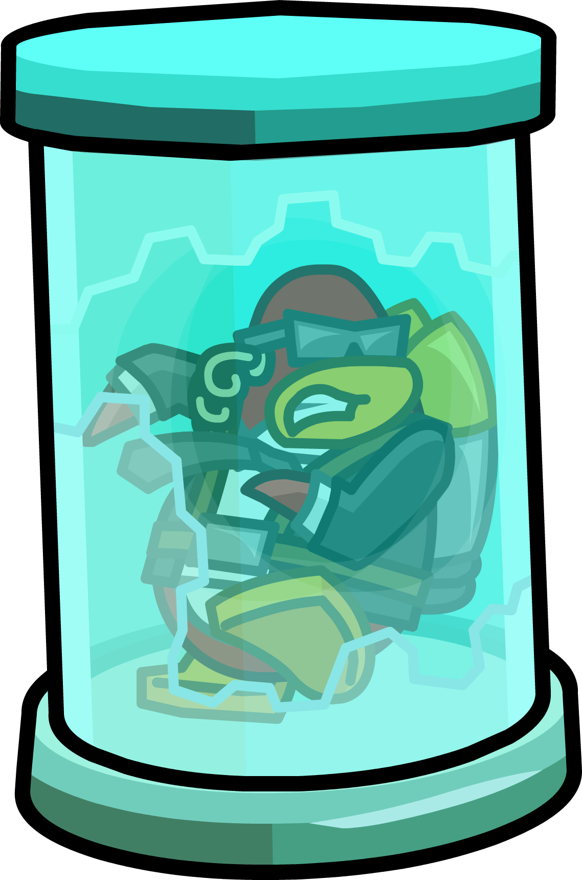 Frozen Jet Pack Guy