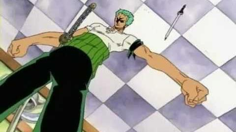 One Piece Epicness - Zoro's Luck vs Sandai Kitetsu's Curse