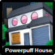 Powerpuff house icon