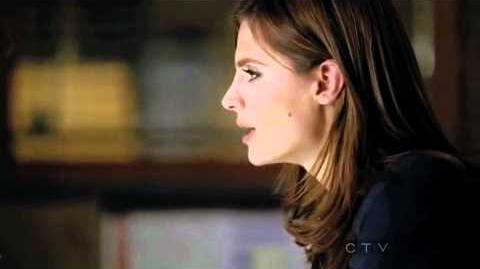 Castle 3x09 - Castle whistles the X-Files song AGAIN