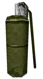 Smoke Grenade third person MWDS
