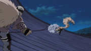 Dosu fights Gaara