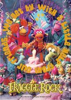 Poster Fraggle Rock-We Get By With A Little Help From Our Friends