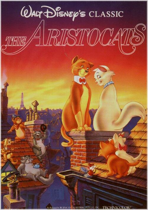 The Aristocats Previews (1988 Print) at Scratchpad, the ...