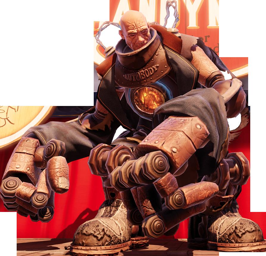 Bioshock infinite, giocato e recensito Handyman