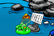 Free-green-duck