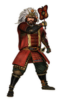 Shingen Takeda Render (SP - NATS)