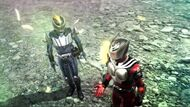 Ryuki and Knight Battride War