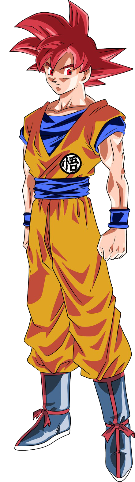 P.O Dragon Ball Goku_SSJ_Dios_Render